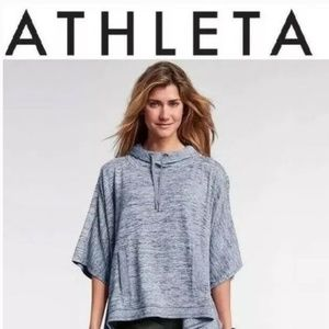 🎉Athleta|Blissful Techie Poncho|Heather Grey|Sz S